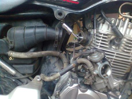 lepas karburator