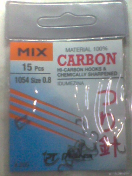 merknya MIX ukuran 0,8 carbon