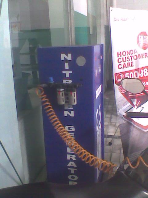 mesin nitogennya