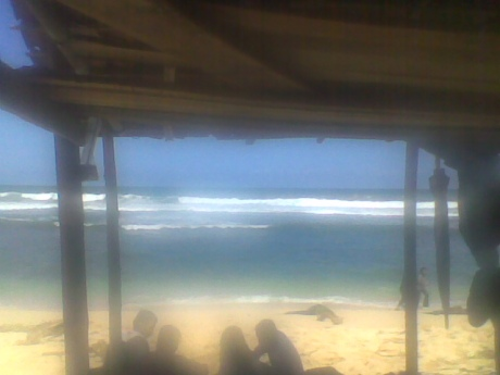 wow, pasir putih, laut biru