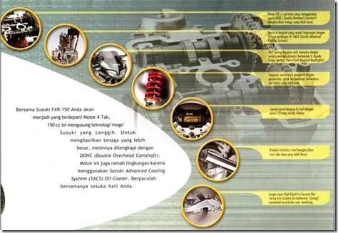 Suzuki FXR 150 Cybermatic Sports