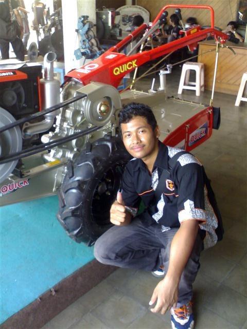 traktor ZENA ROTARY, varian termahal dengan banyak fungsi, cukup Rp