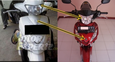 headlamp mio-j dan jupiter mx