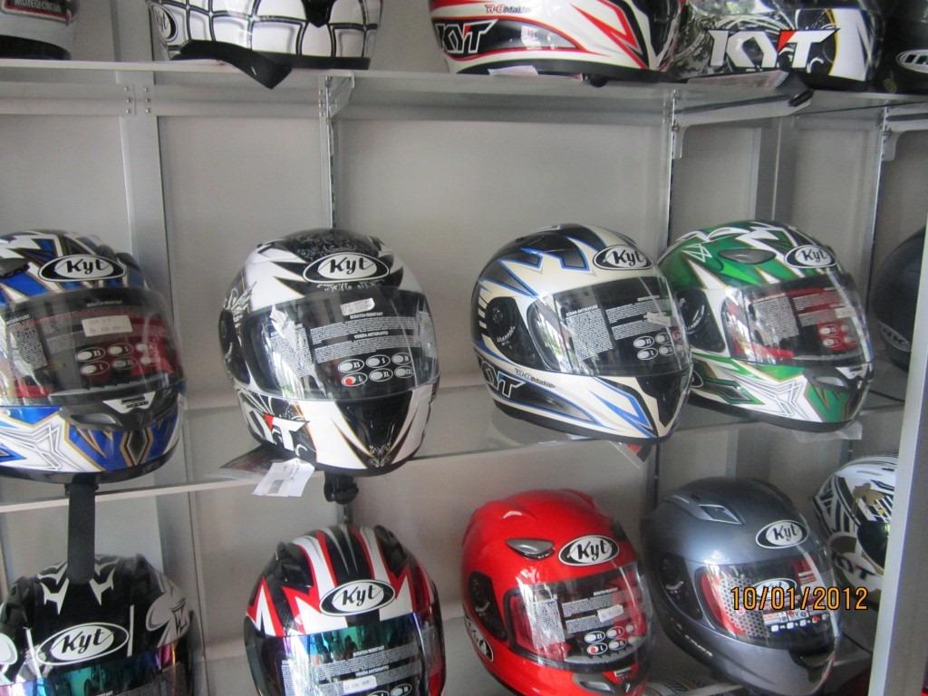SAFETY GEAR HELM FULLFACE KYT RC7 Helm Baru Buat Harian