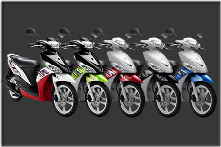 Motor matic injeksi irit harga murah – Yamaha Mio J