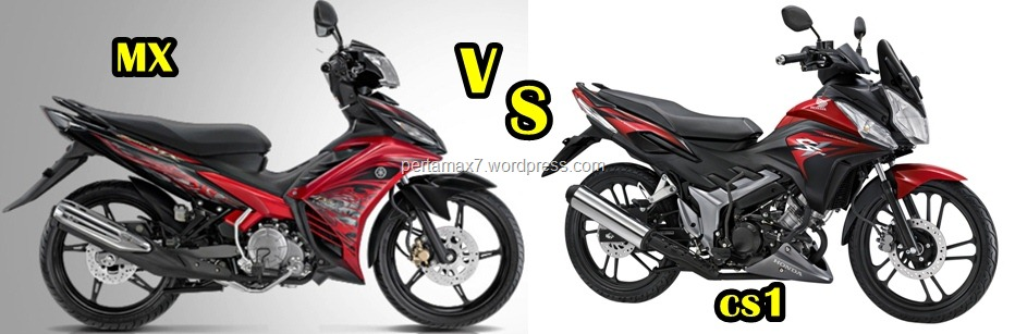 YAMAHA NEW JUPITER MX VS HONDA CS1 ? kenceng new JUPITER MX GAN :D 31