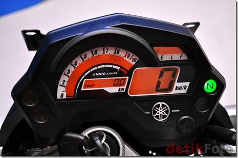 speedometer yamaha byson