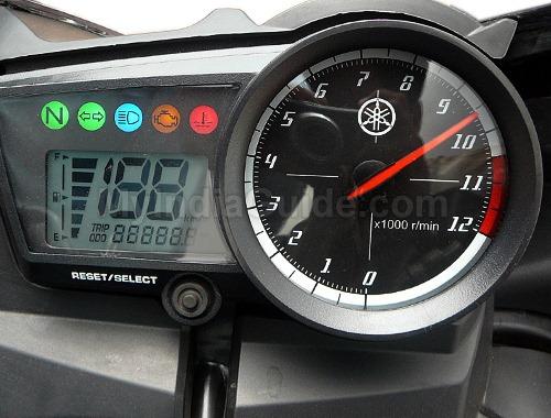 Yamaha Yzf R15 Speedometer View
