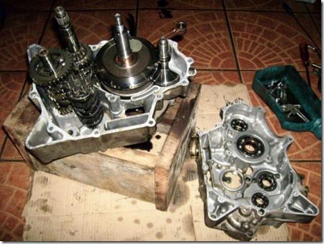 gearbox yamaha vixion