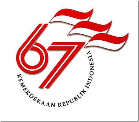 Logo Hut RI ke 67 2