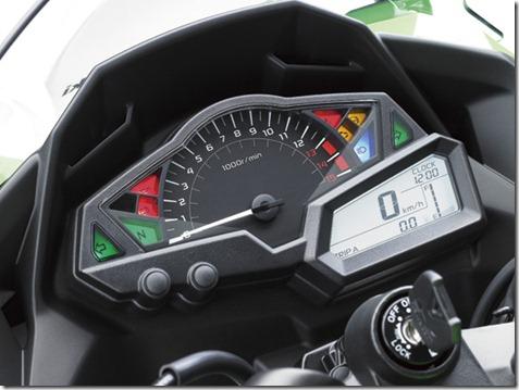 speedometer all new ninja 250