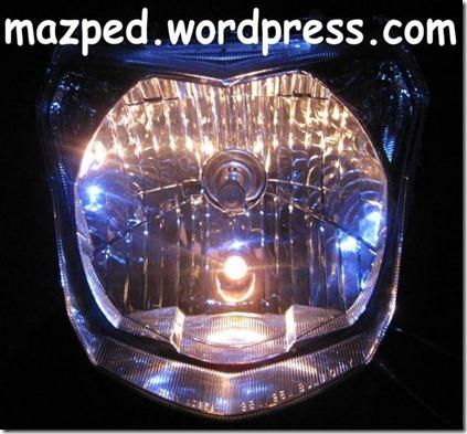 headlamp new vixion