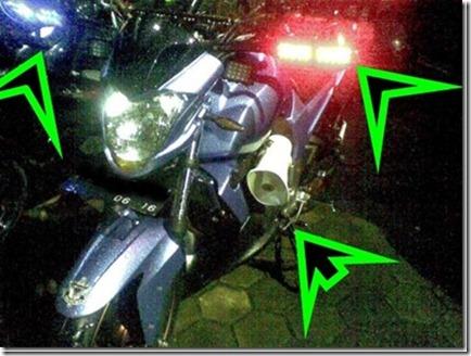 motor dengan strobo TOA