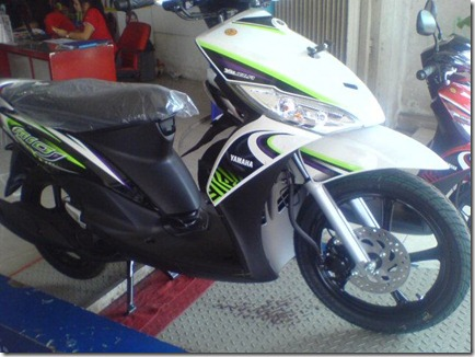 new striping mio j