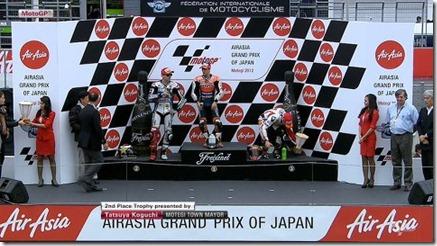 podium motogp motegi