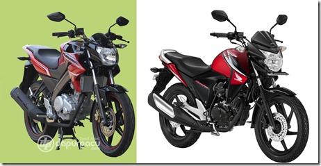 yamaha vixion 2013 vs honda new megapro
