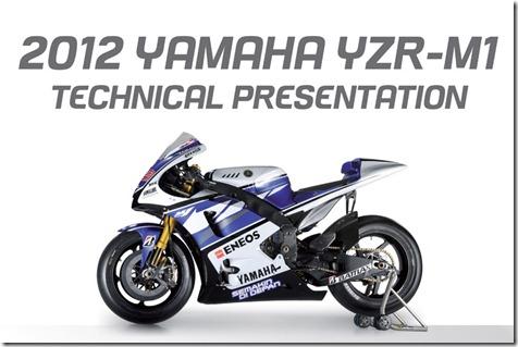 2012-YZR-M1-Technical-Presentation