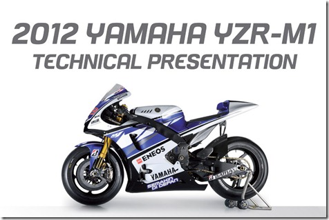 2012-YZR-M1-Technical-Presentation