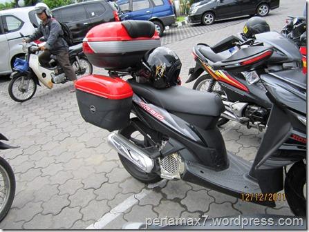Modifikasi Honda Vario Model Touring Box Givi Nya Wow