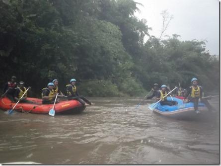 rafting sungai ELO 3 (Medium)