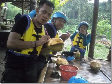 rafting sungai ELO 5 (Medium)