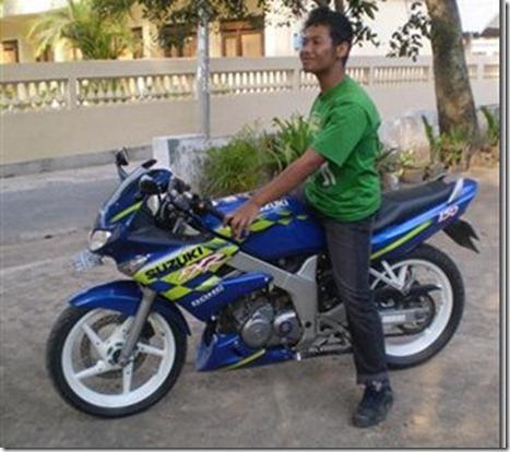 test ride suzuki fxr