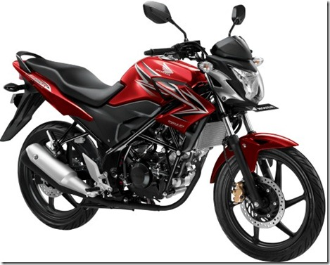 CB150R Furious Red (Small)