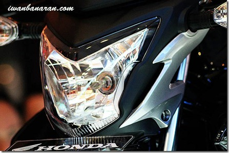 headlamp honda streetfire