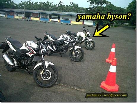 honda cb150r vs yamaha byson di sentul
