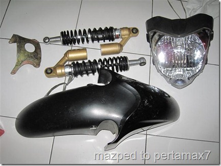 shock breaker honda tiger revo