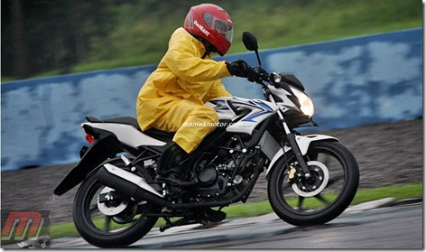 test ride honda CB150R
