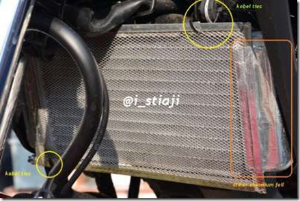 cover radiator honda Cb150r 3