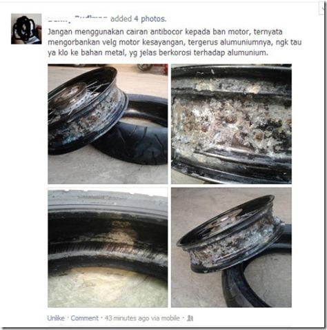 efek samping tyre guard