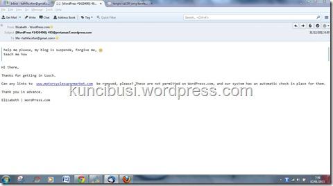 email suspen