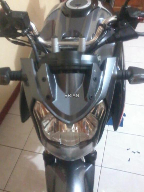 yamaha new vixion tanpa visor, seperti headlamp ninja L 7 Januari 2013