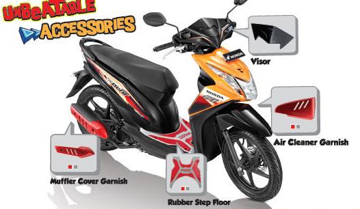 Aksesoris Honda Beat Injeksi Bikin Keren Dengan Rp 330 000