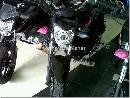 Yamaha New Vixion Berheadlamp HID PROJECTOR Gimana Ya
