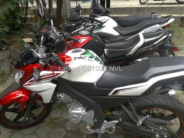 Komparasi Body Yamaha New Vixion Lightning Vs Yamaha Byson