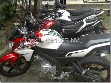 body yamaha new vixion lightning vs yamaha byson vs honda Cb150R