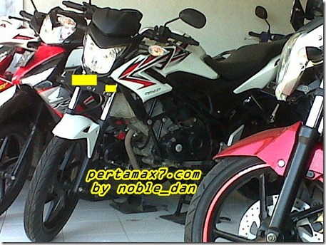 honda CB150r second