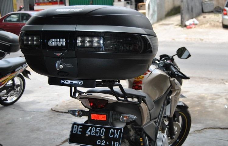BRAKET BOX KUCAY Lampung Untuk YAMAHA NEW VIXION Lightning