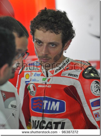 rossi unhappy1