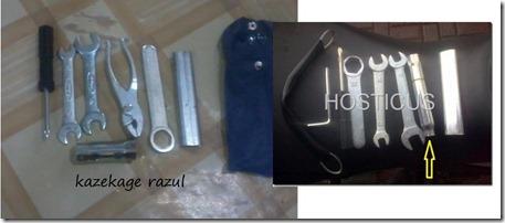 toolkit honda Cb150R