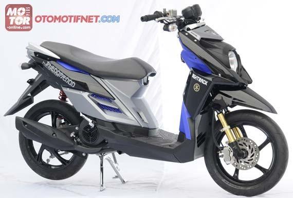 modifikasi yamaha MIO J menjadi yamaha TTX 115, siapkan Rp. 5 jutaan