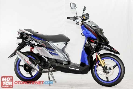 modifikasi yamaha MIO J menjadi yamaha TTX 115, siapkan Rp. 5 jutaan ...