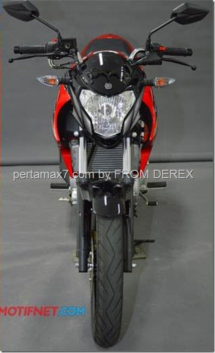lagi, modifikasi headlamp yamaha new vixion lighnting 2013, makin