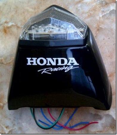 parts modifikasi stoplamp honda cb150r dengan fender eliminator led