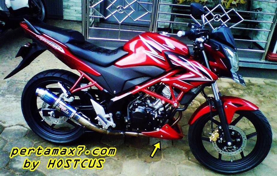 honda CB150R dengan undercowl honda CS-1 13 April 2013