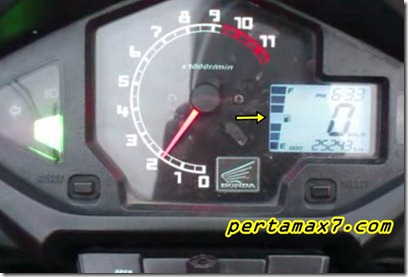 indikator bensin honda new megapro 3