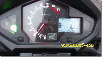 indikator bensin honda new megapro